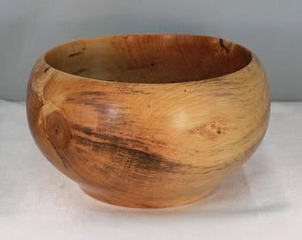 Wooden bowl, hand turned bowl, home decor, couples gift, wedding gift.