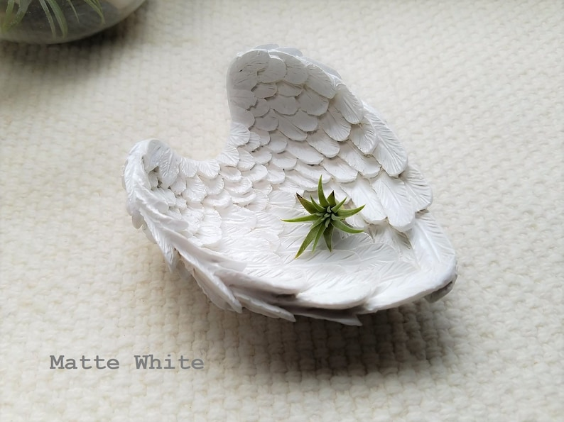 Wings Engagement Dish Angel Wings Jewelry Dish Small Raven Wings Dish Raven Wing Ring Dish Angel Wings Ring Dish Wings Wedding Dish
