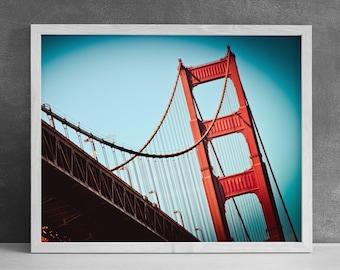 Golden Gate Bridge Photograph - San Francisco Photography - California Photography - San Francisco Bay - Digital Print