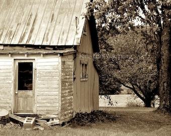 Farm Pictures, Vintage Farm House, Farm House, Rural, Sepia, Rustic