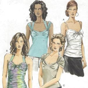 OOP Vogue Designer Pattern V2827 NY NY Collection Womens Front Zipper Jacket Wrap Skirt Shaped Hem /& Pants Size 12 14 16 Bust 34 36 38