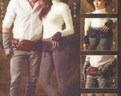Steampunk & Cosplay Accessories Unisex Spats, Fingerless Gloves, Hats and Belts McCalls Sewing Pattern M6975 FF All Sizes Included