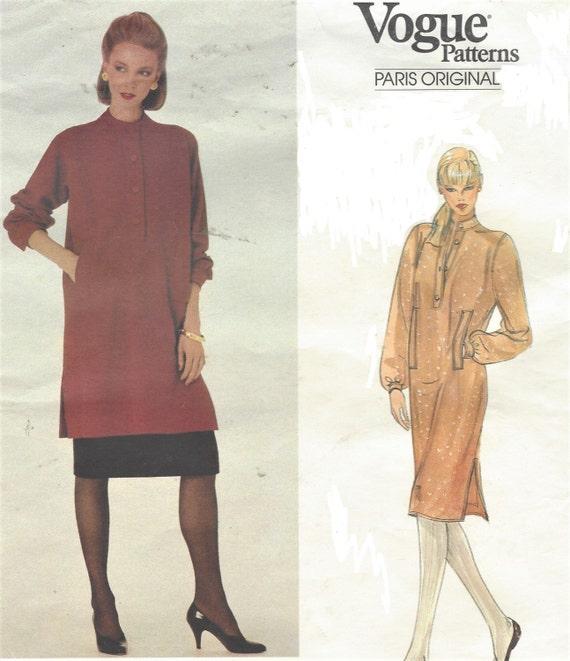 años 80 Yves Saint Laurent para mujer Jersey vestido túnica y | Etsy