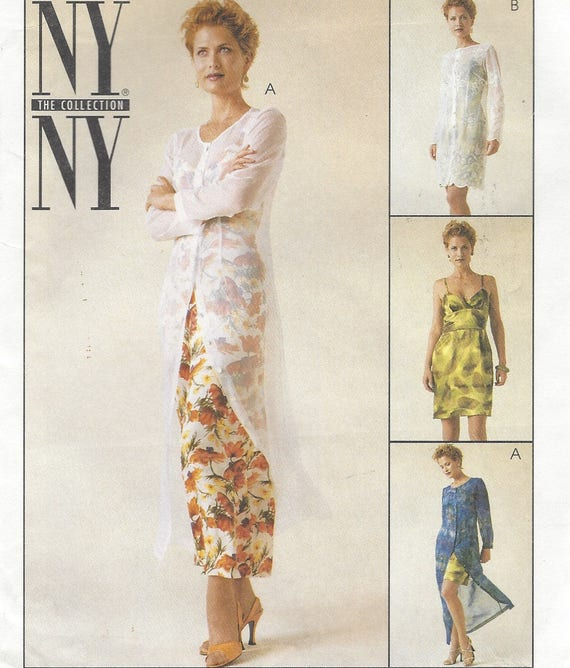 60s NY NY Womens Dress And Slipdress In 60 Lengths Lagenlook Etsy Beauteous Lagenlook Patterns