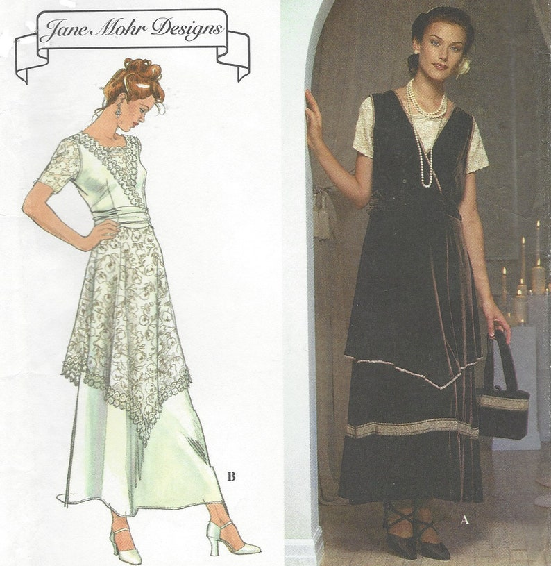 0d6ee57e26 90s Jane Mohr Womens Edwardian Style Dress Knit Top   Purse