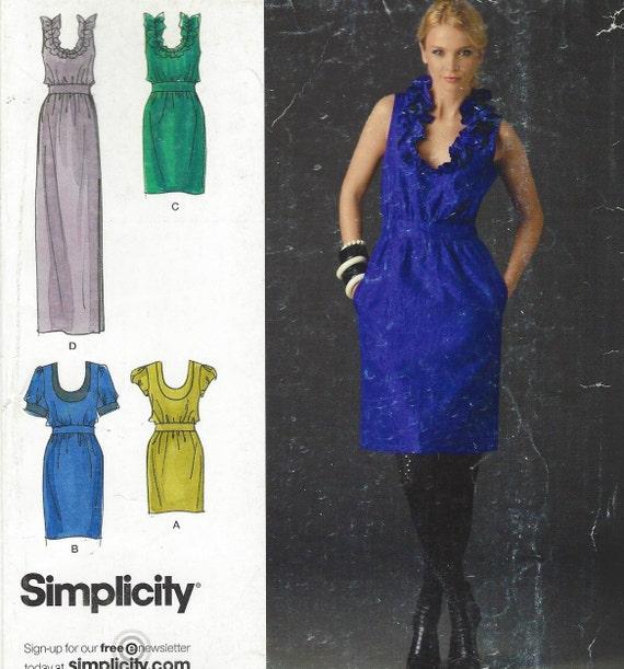 Cynthia Rowley Sewing Patterns: Cynthia Rowley Womens Dress In 3 Lengths Simplicity Sewing