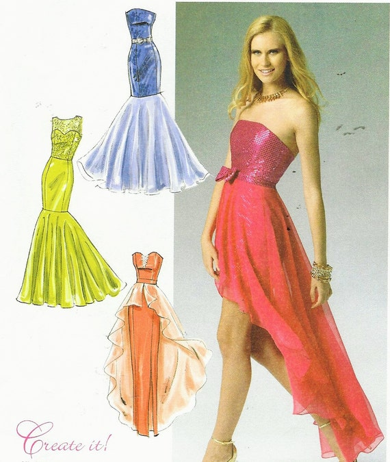 Womens Special Occasion Dress Create Your Own Mccalls Sewing