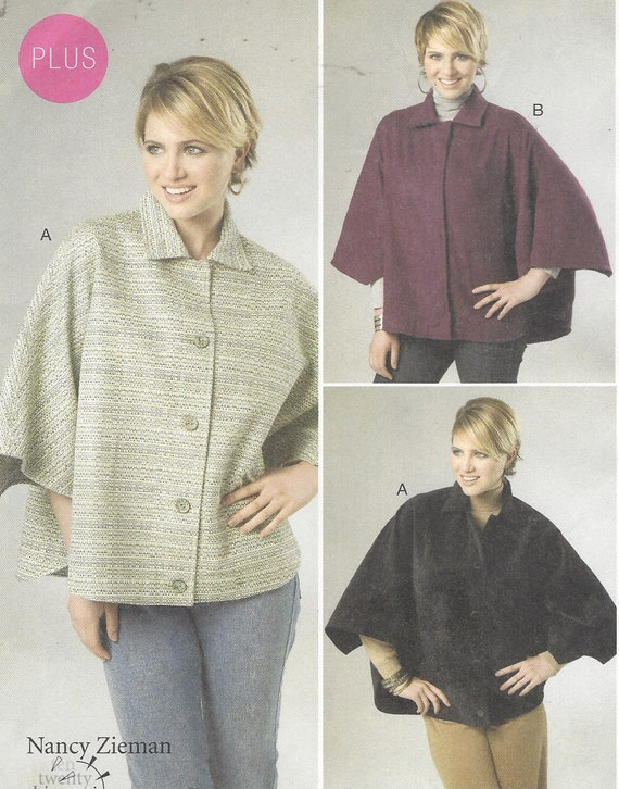 Nancy Zieman Womens Capes 30 Minutes to Sew OOP McCalls Sewing   Etsy
