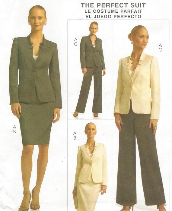 c38721d8764 Palmer Pletsch Womens Perfect Suit Lined Jacket Skirt   Pants