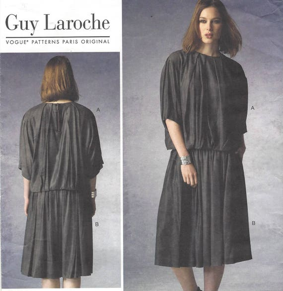 Guy Laroche Womens Lagenlook Top And Skirt Softly Pleated For Etsy Adorable Lagenlook Patterns