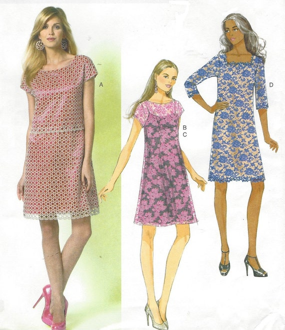 Womens Sommerkleid und Slip OOP Butt Nähen Muster B5812 Größe