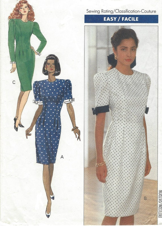 90er Jahre Frauen Prinzessin Naht Kleid Ärmel Variationen | Etsy