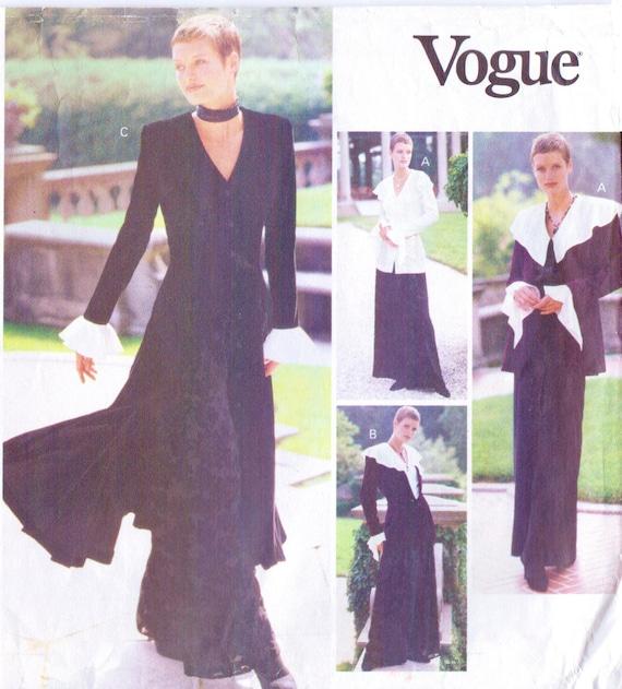 anni   90 giacca Womens gotico Maxi abito Top a balze    d8b8a613ed8
