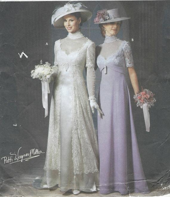 Patti Wagner-Miller Womens Edwardian Titanic Era Wedding Gown | Etsy