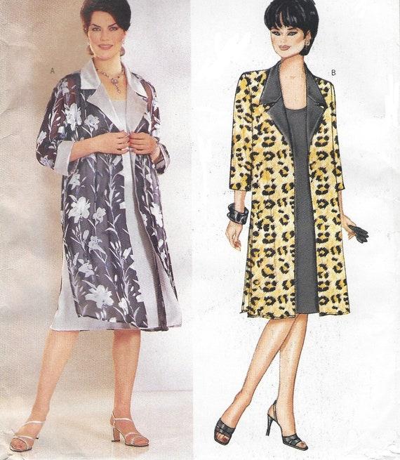 6432 Vintage NEW LOOK SEWING Pattern 8-18 Top Pants Dress Jacket OOP SEW FF
