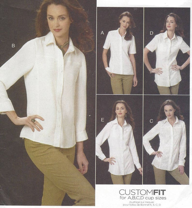 9404add12 Womens Button Down Yoke Shirts Perfect White Shirt with | Etsy