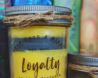 House Pride - Loyalty | Hufflepuff Inspired Bookish Soy Candle