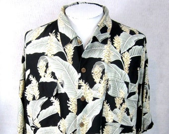 e081bc6d TOMMY BAHAMA Men Hawaiian Aloha shirt p2p 30