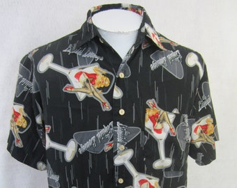 98acb5c36 EXTREME GEAR Men Hawaiian ALOHA shirt pit to pit 24