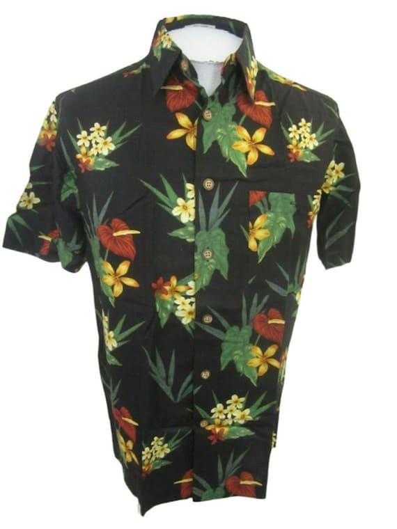 Ron Chereskin vintage 1990s Men Hawaiian ALOHA shi