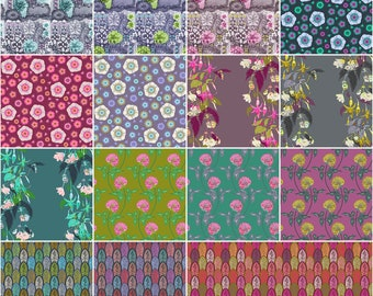 ON SALE Preorder***Anna Maria Horner English Summer Fat Quarter Bundle 15 pieces