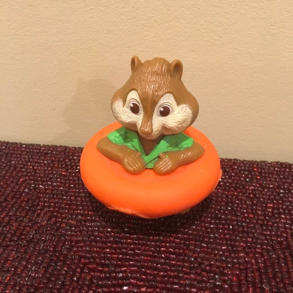 Theodore Alvin And The Chipmunks Happy Meal Kids Toy Recycled Etsy