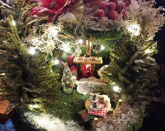 Holiday Handmade Fairy House  ~ A WHO Holiday