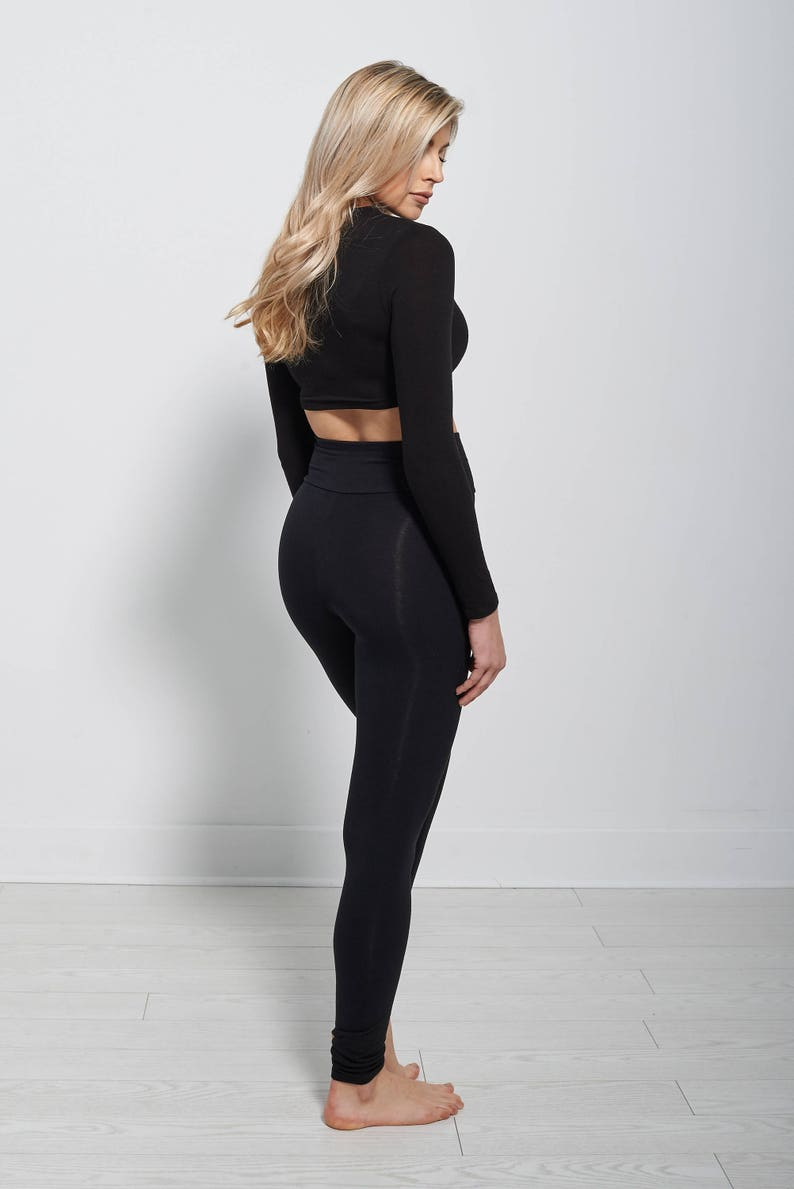 4776c67ad26 Yoga leggings bamboo yoga pants plus size 3xl woman