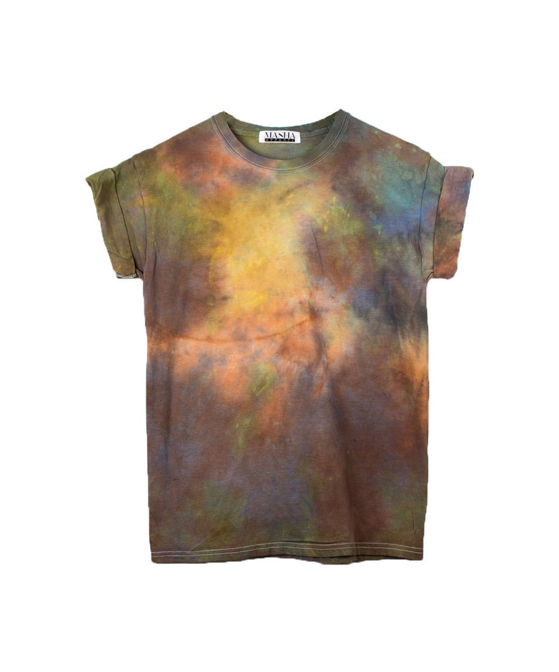 8397be6b43d2 Burning Man Tie Dye T-shirt Festival Rainbow 90s shirt