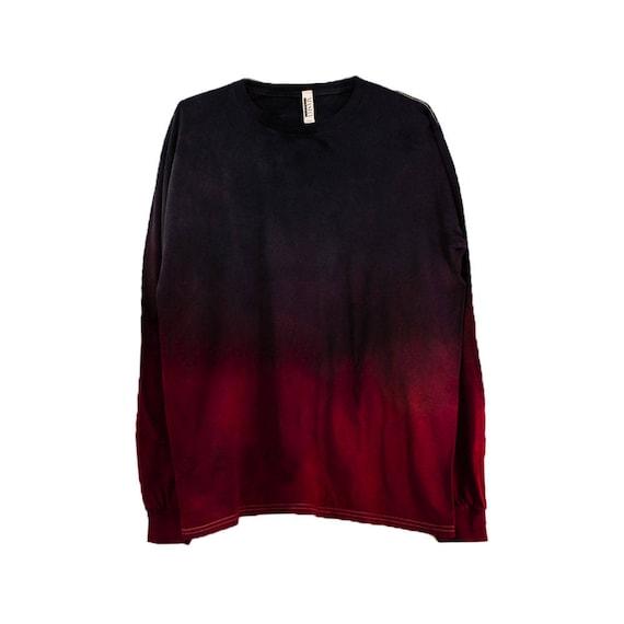 Black Dip Shirt, Long Sleeve Tie Dye, Tie Dye T Shirts Men, Black Tie Dye Hoodie, Tie Dye Sweater, Psychedelic Tie Dye Hoodie, Burning Man by Etsy