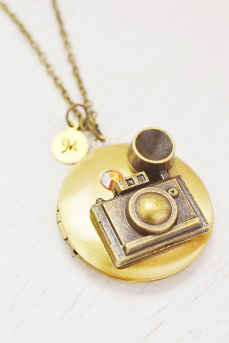 Locket Necklace Graduation Gift Photographer Birthday Photo