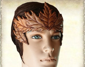 Leather Crown, Custom made
