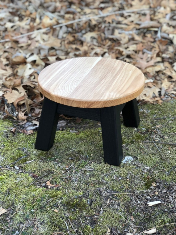 Cool Round Top Step Stool Riser Modern Contemporary Wood Stool Painted Colors Andrewgaddart Wooden Chair Designs For Living Room Andrewgaddartcom