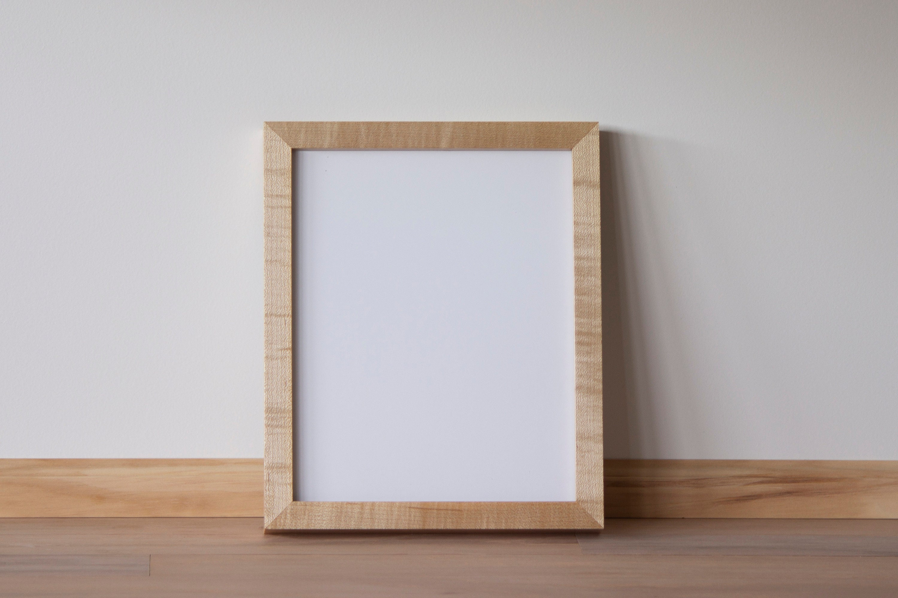 12 X 16 Gallery Frame Maple W Mar Resistant Etsy
