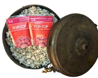 Pop Top Popcorn Spice 85 grams // gourmet popcorn // garam masala // sweet and salty