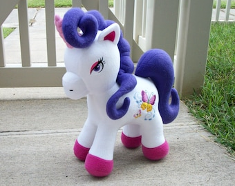Personalize Your Own Custom Large Unicorn Horse Plush