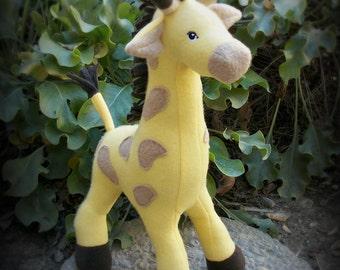 Personalize Your Own Custom Giraffe Plush