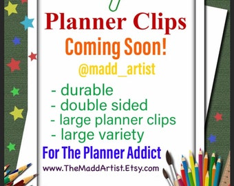 Planner Clips- Coming Soon