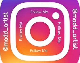 FOLLOW ME- On Instagram