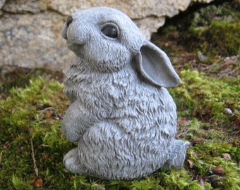 Rabbit Statue, Cute Bunny Garden ...
