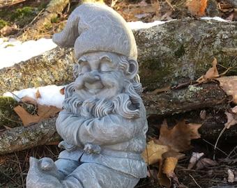 Incroyable Garden Gnome Sleeping, Concrete Gnome Resting, Garden Decor, Garden Gnomes,  Cement Gnome, Garden Statues, Yard Art, Home Decor, Gardener.