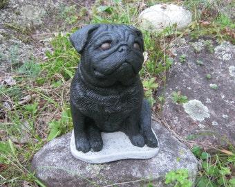 Black Pug Etsy