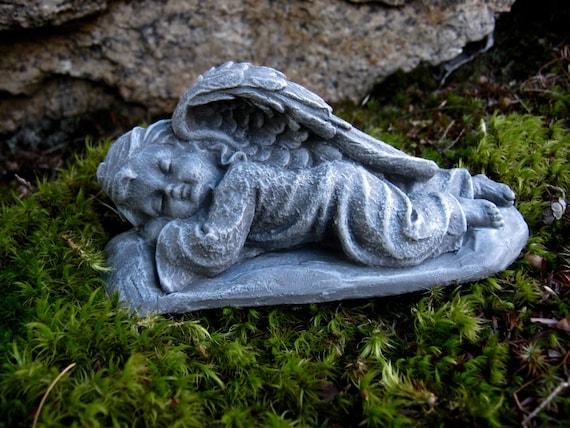 Superbe Angel Statue Cherub Angels Garden Decor Sleeping Angels | Etsy