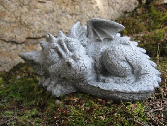 Superieur Dragon Statue Concrete Dragon Cement Dragons Garden | Etsy