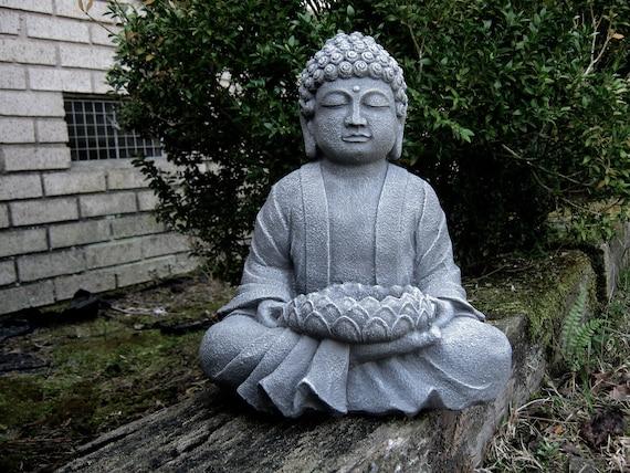 Merveilleux Buddha Statue Garden Statues Zen Garden Concrete Buddha | Etsy