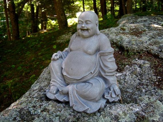 Buddha Large Buddha Statue Budai Concrete Statue Concrete | Etsy