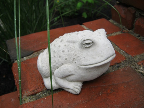 Toad Statue For Garden Decor Concrete Frogs And Toads