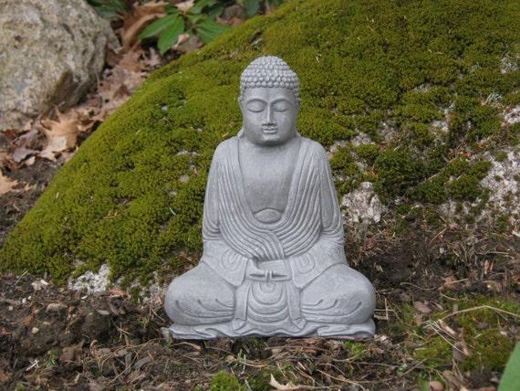 Merveilleux Buddha Statue Concrete Statues Meditating Buddhas Garden | Etsy