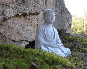 Buddha Statue, Meditating Buddha, Buddhist Concrete Statues, Oriental Garden,  Buddha Figurine,