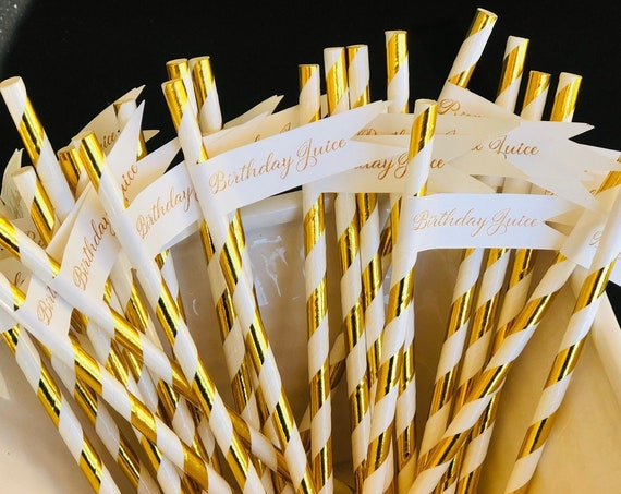 Cheers Straw Flags White Cheers Straw Flags Wedding Straw Flags, Birthday Straw Flags, Straw Flags . Set of 50.